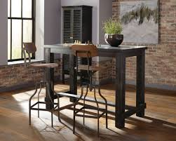 small high top table high top table and stools bar height pub stool set wood dining