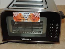Glass In Toaster Oven Mail4rosey My Cuisinart Viewpro Glass Toaster Is See Through And