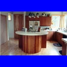 kitchen fancy small kitchen galley decoration using oak wood