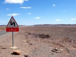 stone desert free photo street sign funny stone desert desert morocco road max