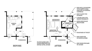 Aging In Place Floor Plans Home Renovations Aging In Place Dms Design