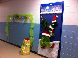 how the grinch stole door decorating ideas