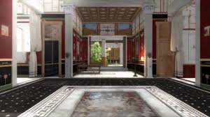 walk around in a 3d splendid house from the ancient pompeii youtube