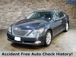 lexus sedan 2008 pre owned 2008 lexus ls 460 smoky granite mica 4d sedan in mattoon