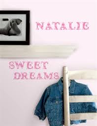 removable wall stickers for kids rooms pink alphabet wall decals