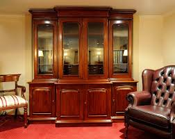 Tall Bookcase With Doors by Furniture Brown Wooden Tall Book Cabinet With Glass Door And