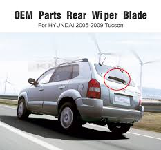 hyundai tucson rear wiper blade oem genuine parts rear wiper blade 1pcs for hyundai 2005 06 07
