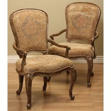Thomasville Patio Furniture by Thomasville Dining Fusion Upholstered Arm Chairs Set Of 2 Free