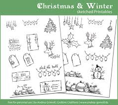 free download christmas printables planner december