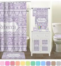 Cynthia Rowley Bathroom Accessories by Baby Elephant Bathroom Accessories Set Personalized Potty