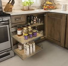 blind corner kitchen cabinet inserts base blind corner cabinet with access trays schuler