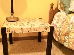 College House Ideas by Diy End Table Thrifty College House Blog College Pinterest