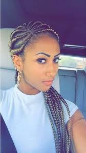young black american women hair style corn row based hair color flat twist ghana braids and ghana