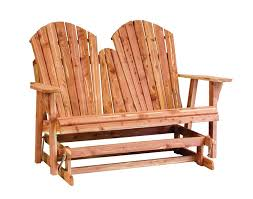 Free Wood Glider Bench Plans by Cedar Adirondack Loveseat Glider From Dutchcrafters