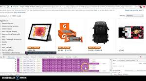 Amazon Home Scrape Amazon Listings And Prices With Excel Vba Youtube