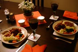 romantic dinner for two at home world colors are similar with