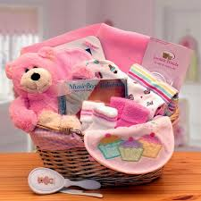 new gift baskets simply the baby basics new baby gift basket pink s gift