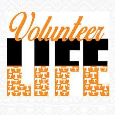 vols ut tennessee volunteers vols svg volunteer svglife