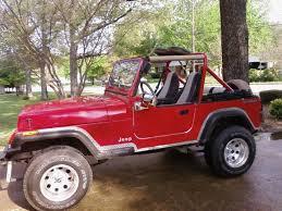 jeep wrangler red 1991 jeep wrangler specs u2014 ameliequeen style
