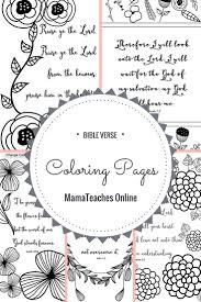 bible verse coloring pages set 1 mamateaches online currclick