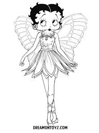 betty boop pictures print betty boop coloring pages print
