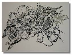 photo collection white abstract pen