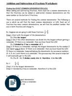 grade 5 math word problems with answers fraction mathematics