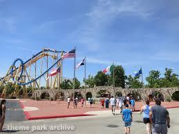 Goliath Six Flags Goliath At Six Flags Fiesta Texas Theme Park Archive