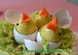 Pretty Easter Decorations To Make by 63 Best Easter Fruit And Vegetable Carvings Images On Pinterest