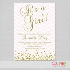 pink and gold baby shower invitations glitter pink gold baby shower invi on fairytale coach baby shower