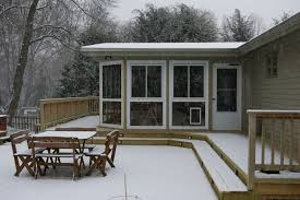 can a deck be built in the winter custom decks of fairfield