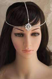 bridal headpiece wedding hair accessories 3 swarovski crystal