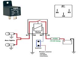 how to wire a relay switch diagram how to wire a 5 pin relay