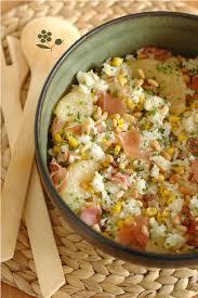 que faire avec un de cuisine que faire avec un reste de riz cuit une salade composée du placard