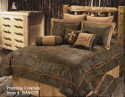 Cowboy Bed Sets Praying Cowboy Bedding Set