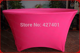Spandex Table Cover No 21 Fuchsia Lycra Spandex Table Cover Tablecloth Table Runner