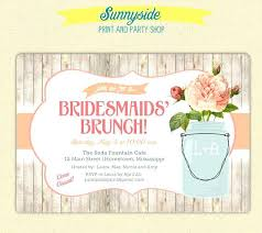 bridesmaids brunch invitations dreaded bridesmaid luncheon invitation 43 bridal luncheon