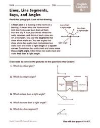 lines rays and line segments worksheets lines line segments and rays worksheets pdf