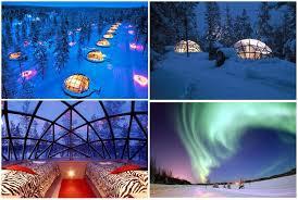 finland northern lights hotel http us wow com image q glass igloo hotel alaska bucket list