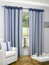 sundour padstow blue lined curtains 66 x