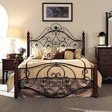 Antique Metal Bed Frame Antique Iron Bed Amazon Com