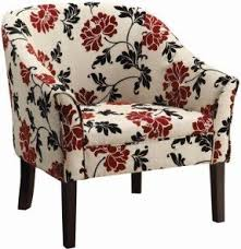 Floral Accent Chair Floral Upholstered Accent Chair Foter