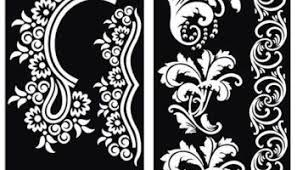 henna tattoo stencils for all body art and temporary tattoos the