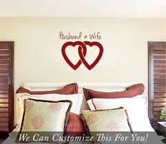 husband and wife linked hearts wall vinyl lettering decal for you husband and wife linked hearts wall vinyl lettering decal for you married couples or bedroom 2015