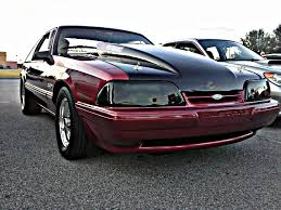 fox mustang coupe for sale speedform mustang smoked headlight covers 80106 87 93 all free