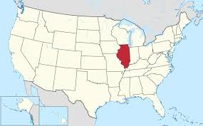 Illinois Time Zone Map by Illinois Location On The Us Map Map Illinois Desy Map Illinois