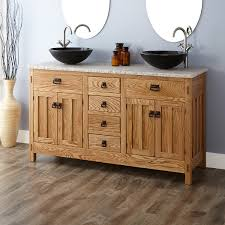 60 Bathroom Vanity Double Sink Double Sink Oak Vanity Signature Hardware