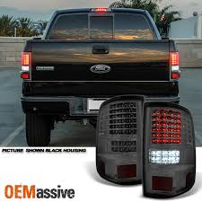 2004 f150 tail lights 2004 2005 2006 2007 2008 ford f150 full led smoked tail lights tail