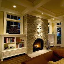 flat stone fireplace designs for hearth panel mounted inset facade