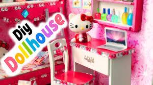 diy miniature dollhouse kit cute room 2 step by step tutorial